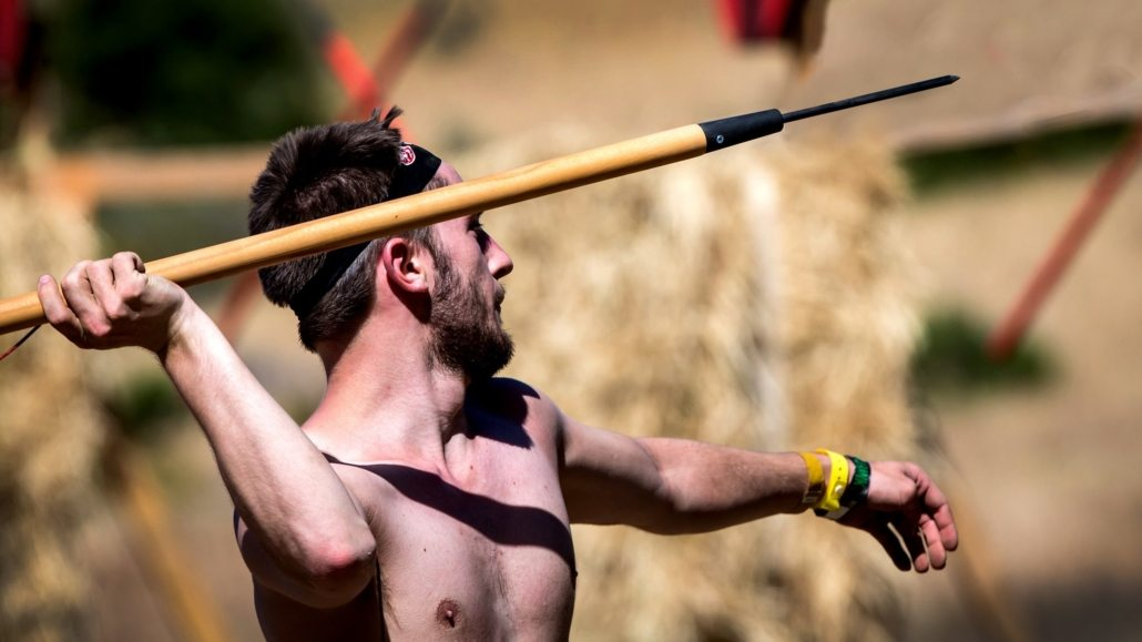 Obstacle Course Training Tips ---- Spear throw