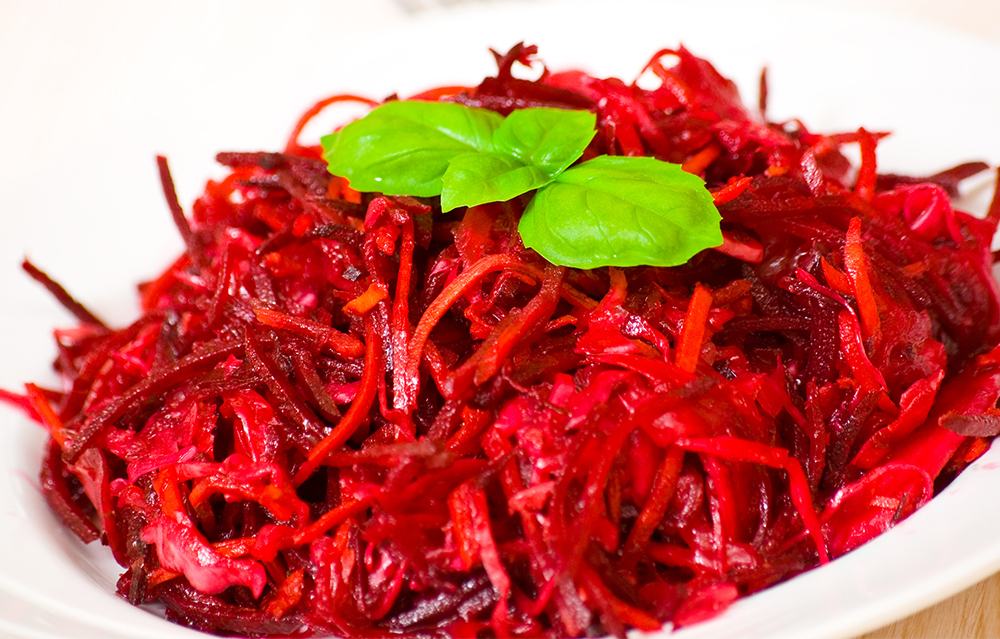 Eat this salad to experience the benefits of beets