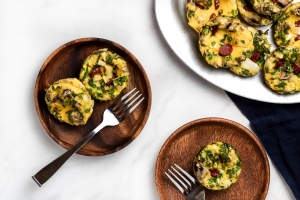 venison egg muffins