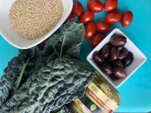pistachio quinoa ingredients