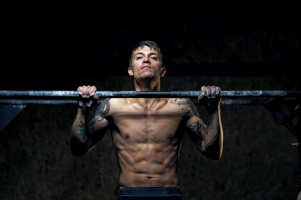 Upper body strength is key to get strict pull-ups.
