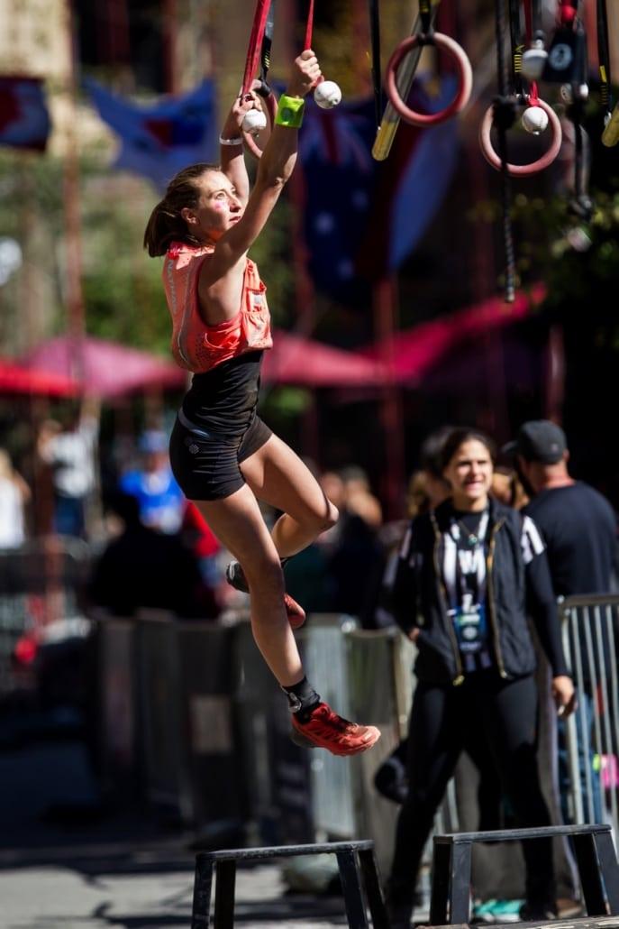 Nicole Mericle Spartan climbing
