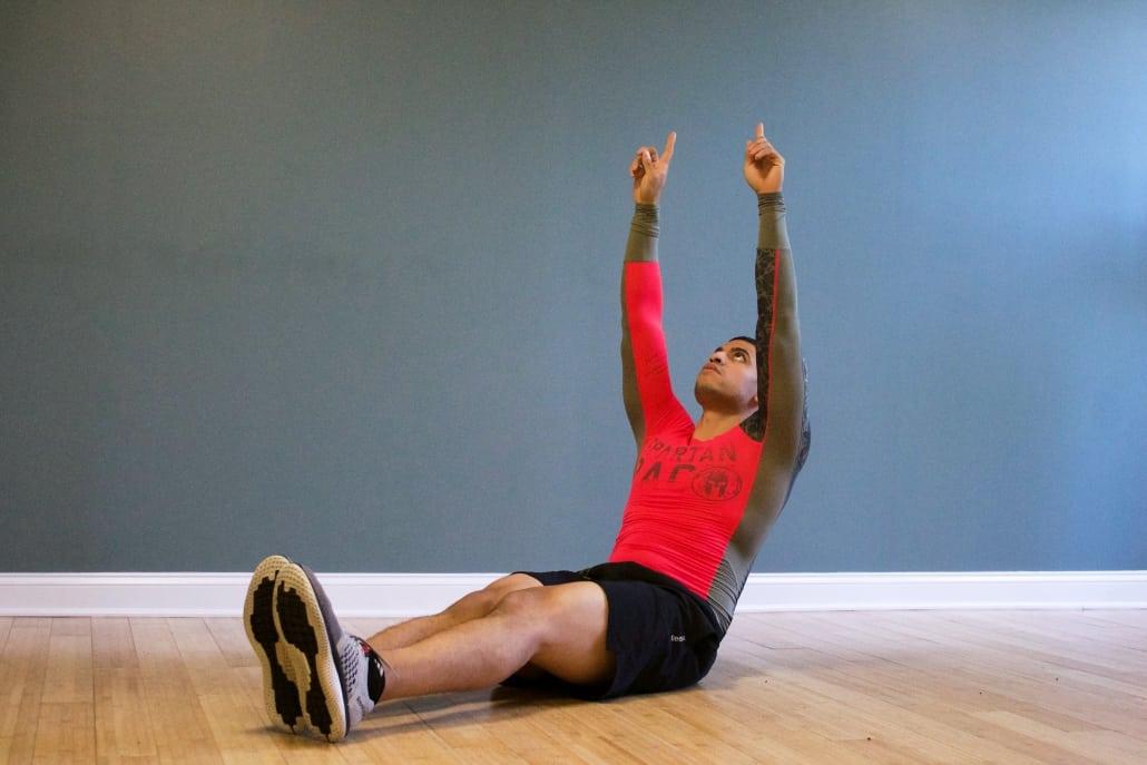 Underrated bodyweight exercises v-sit