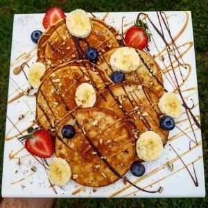 dave sherotski flourless pancakes