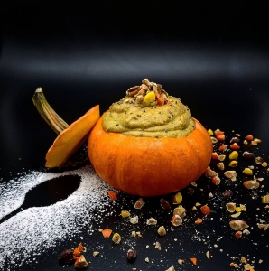 pumpkin pudding greek yogurt dave sherotski