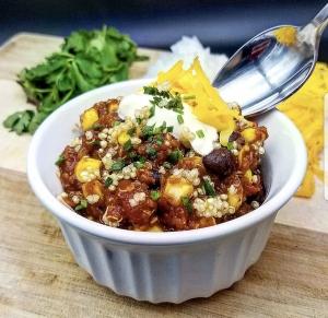 quinoa chili dave shertoski
