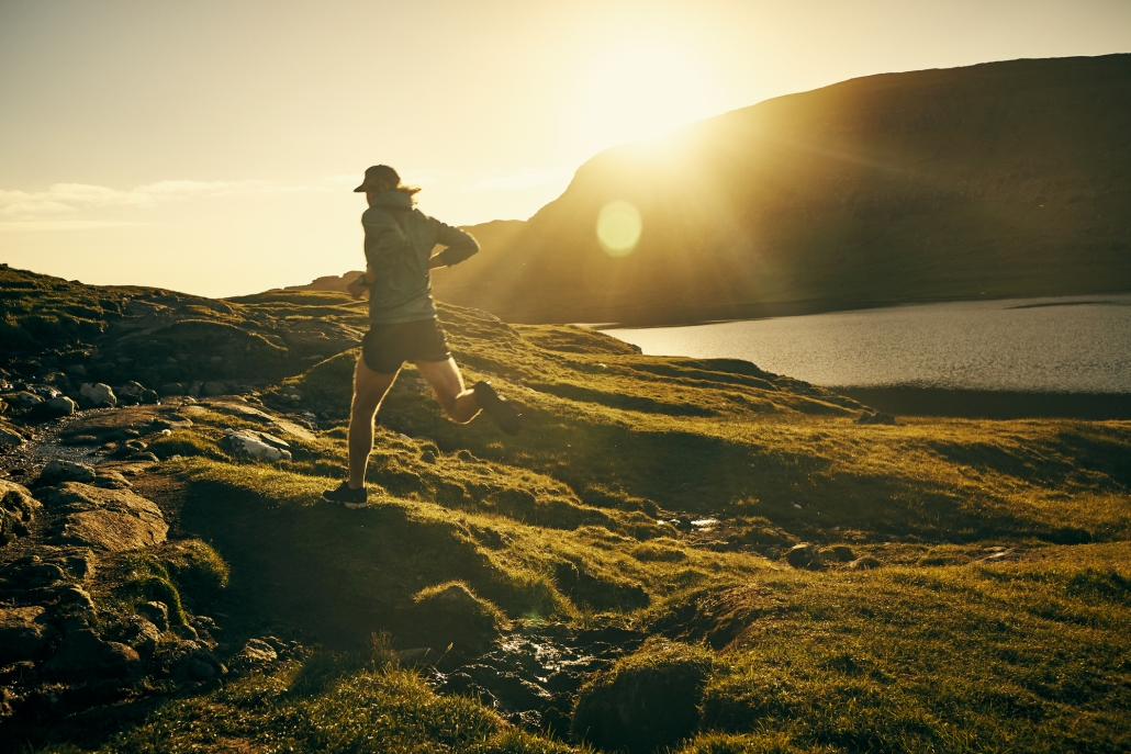 the freedom of trail running