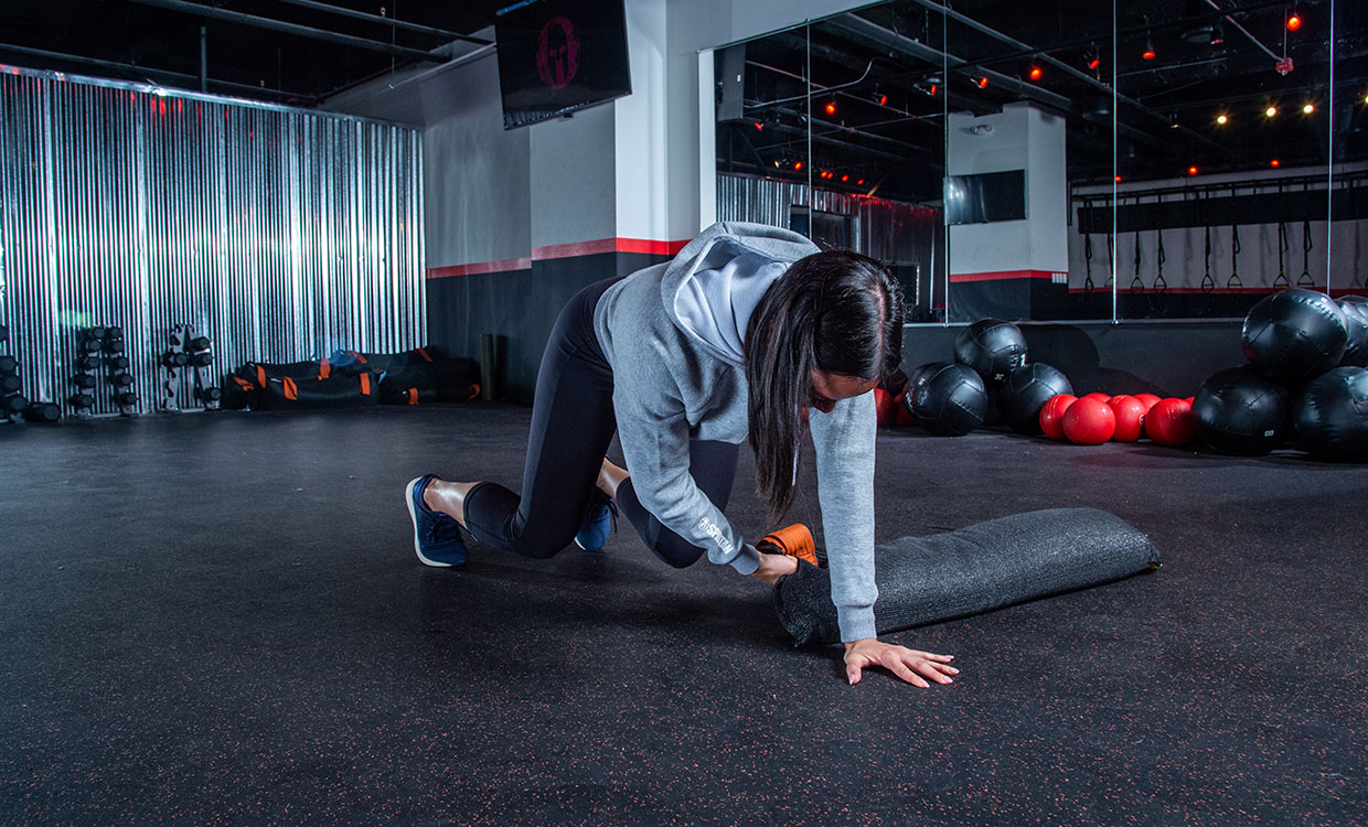 Iso Bear Hold core workout