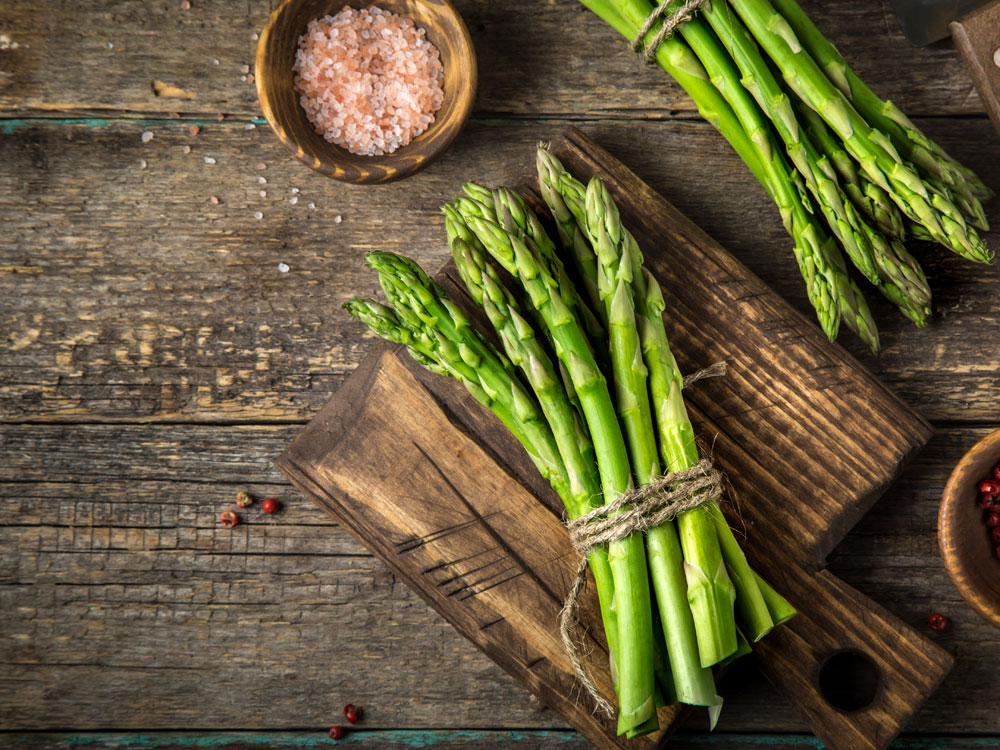high-protein vegetables asparagus