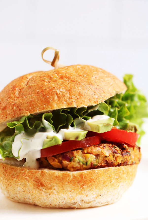 plant-based meals chickpea burgers