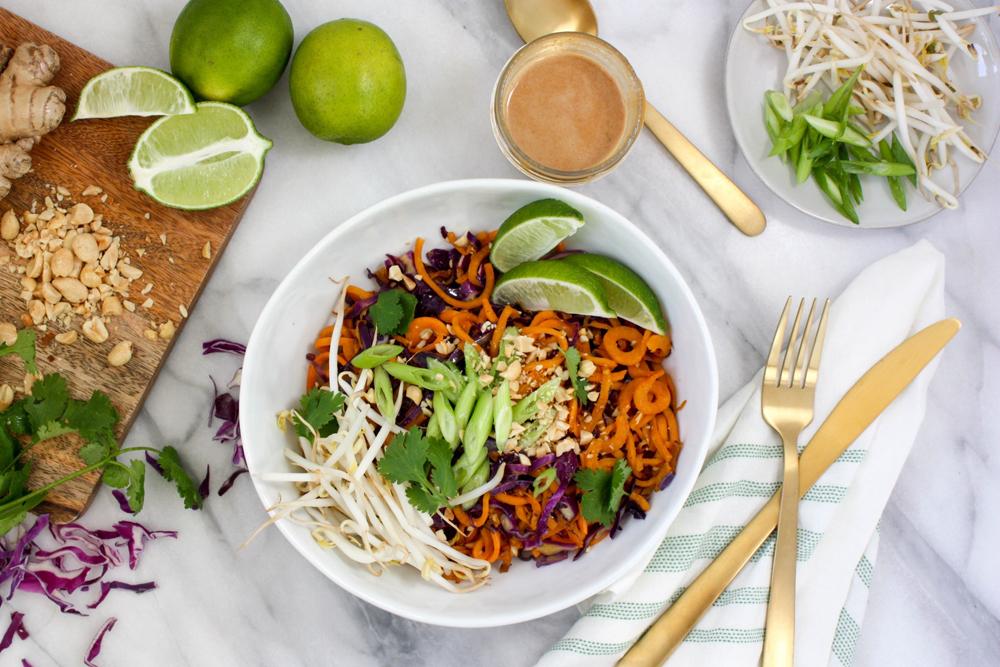 are sweet potatoes healthy pad thai