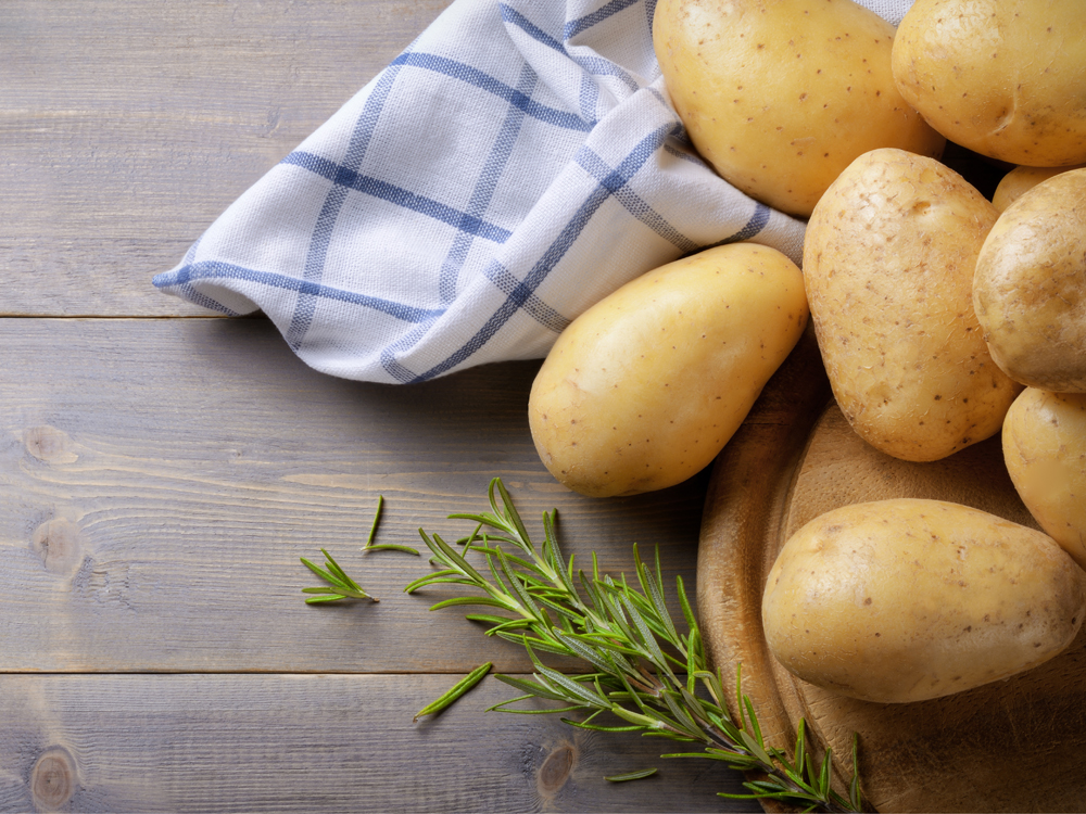 high-protein vegetables potatoes