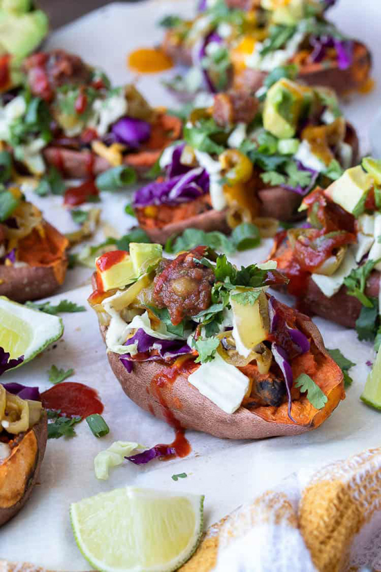 are sweet potatoes healthy sweet potato skins