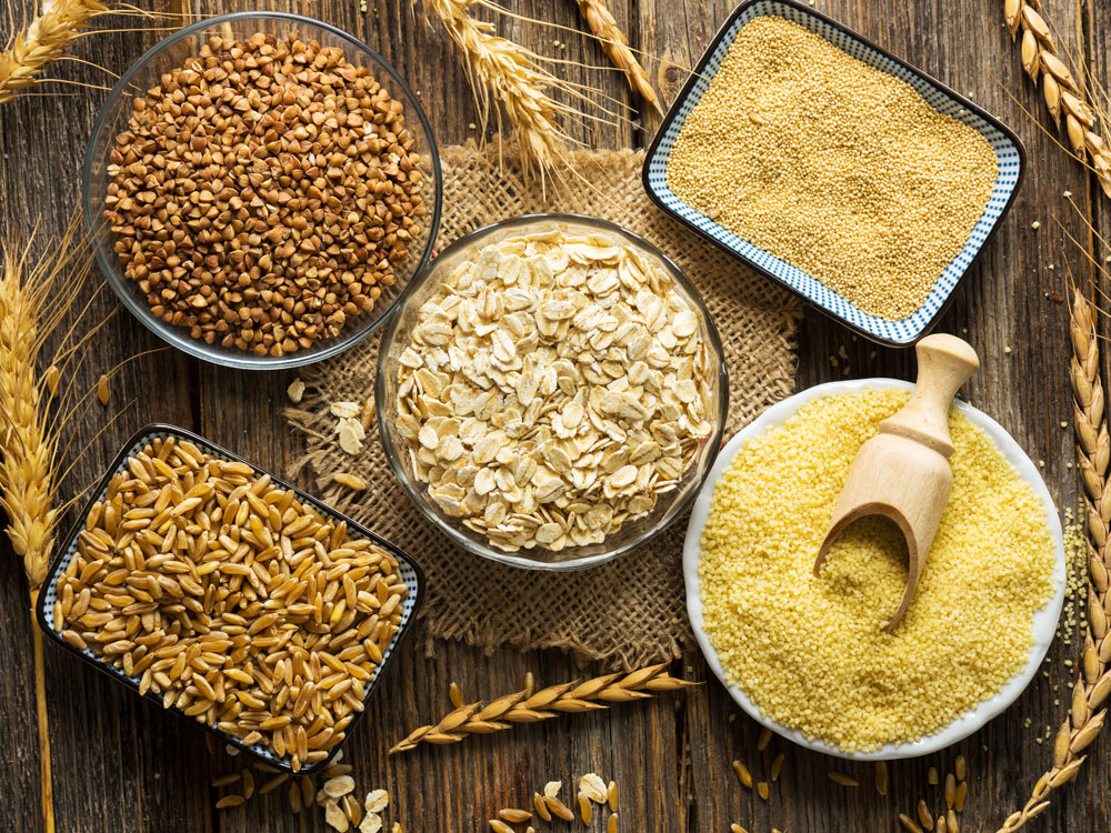 plant-based foods whole grains