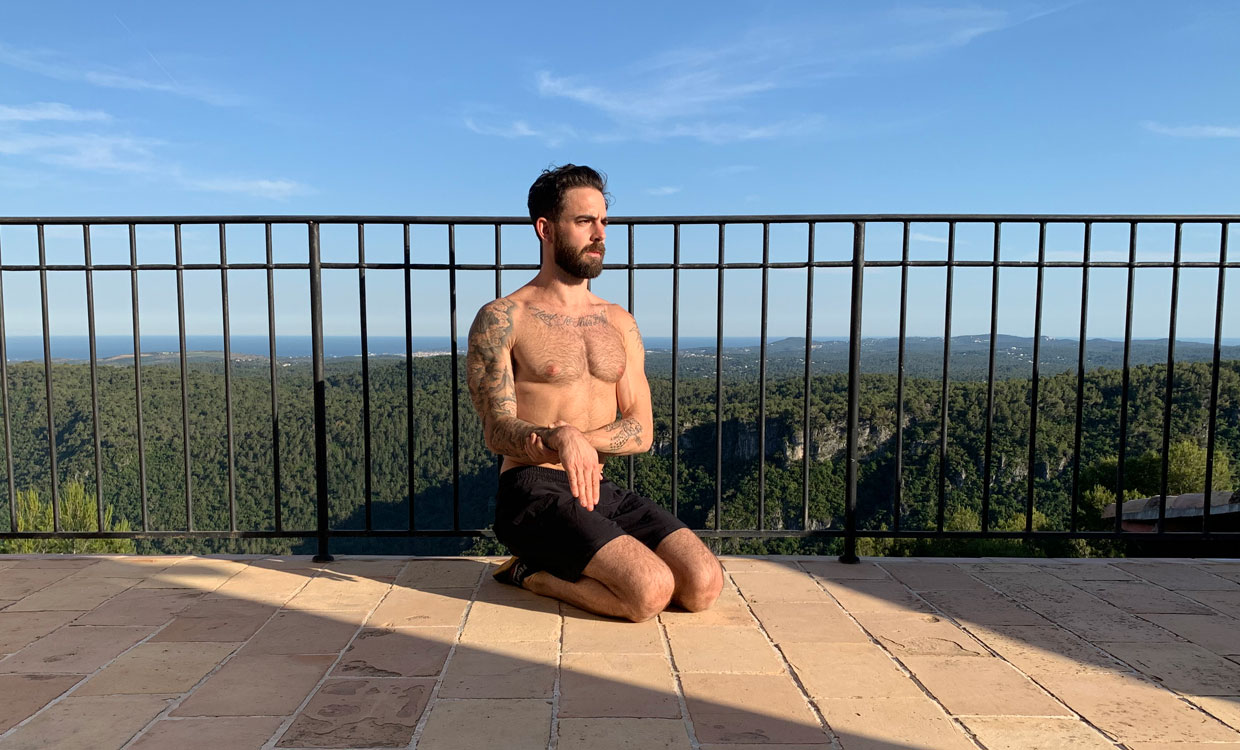 yoga for training recovery wrist cars