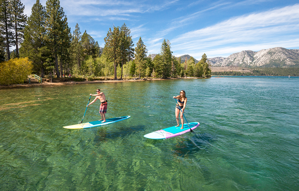 active things to do in Tahoe SUP kings beach
