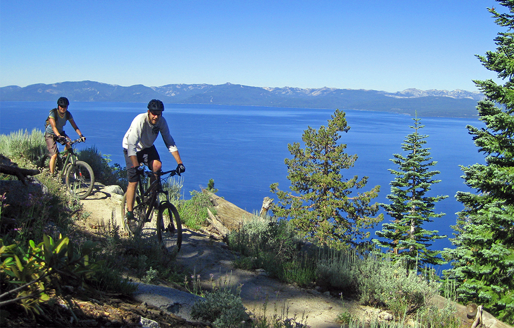 active things to do in Tahoe flume trail
