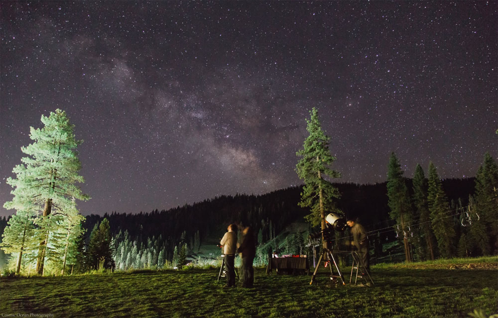 things to do in tahoe star gazing