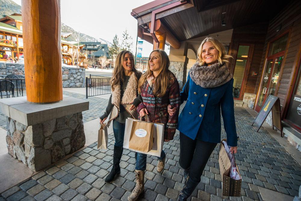 things to do in tahoe women shopping
