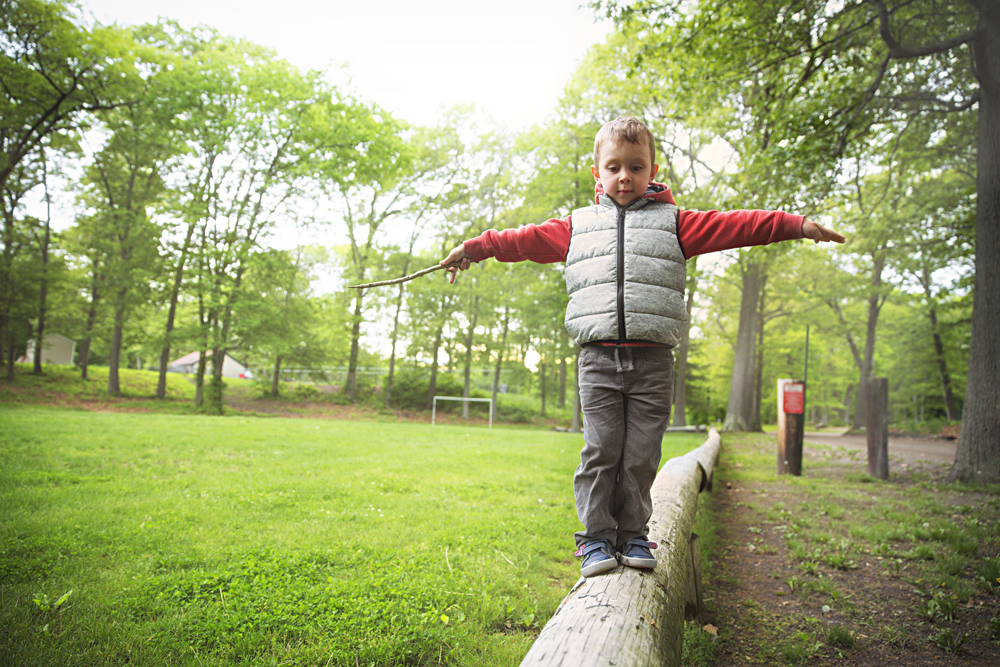 spartan kids' exercises balance beam