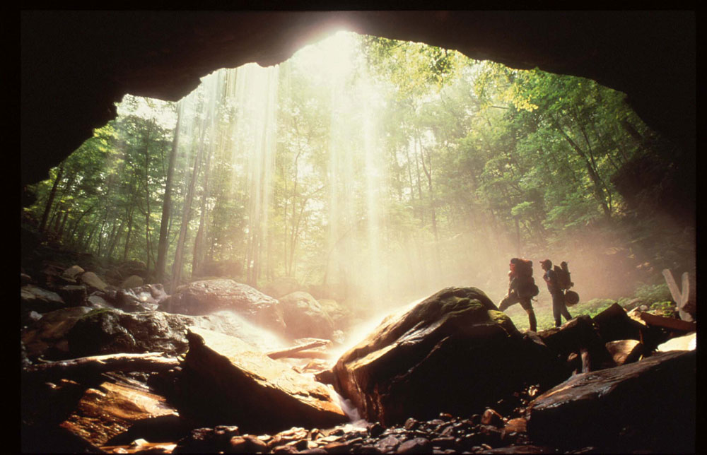 best trail runs in the U.S. Virgin Falls