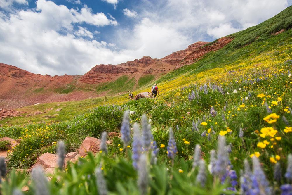 best trail runs in the U.S. Four Pass Loop Aspen CO