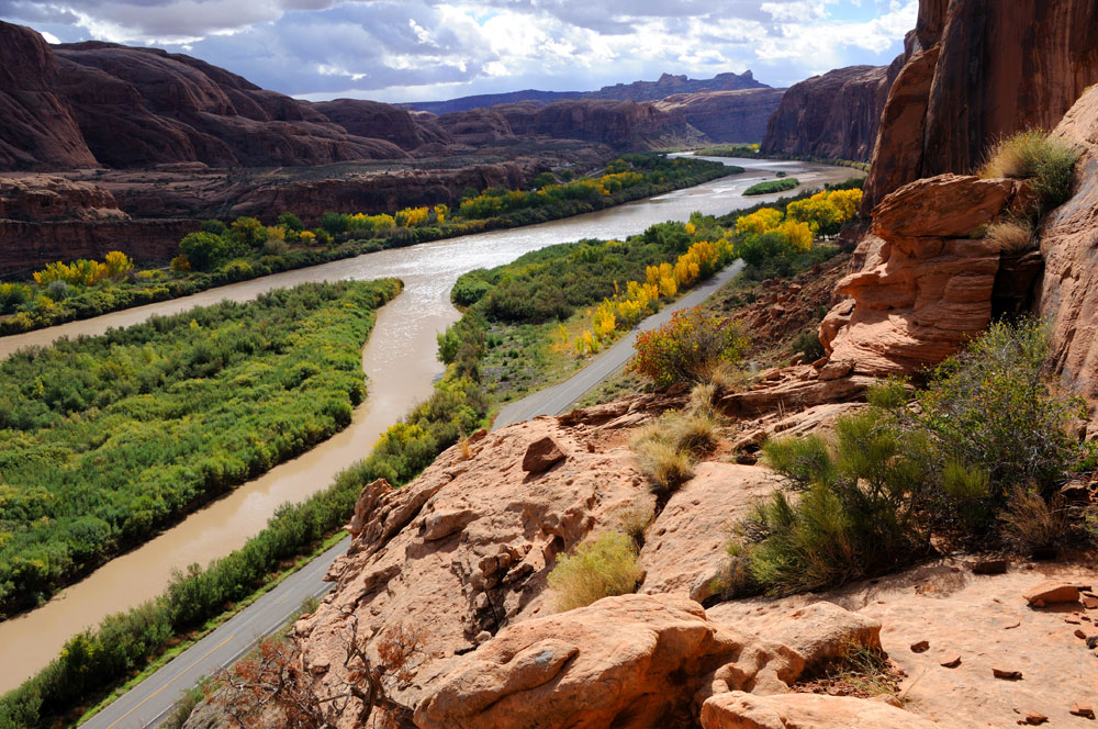best scenic trail runs in the U.S. poison spider mesa moab