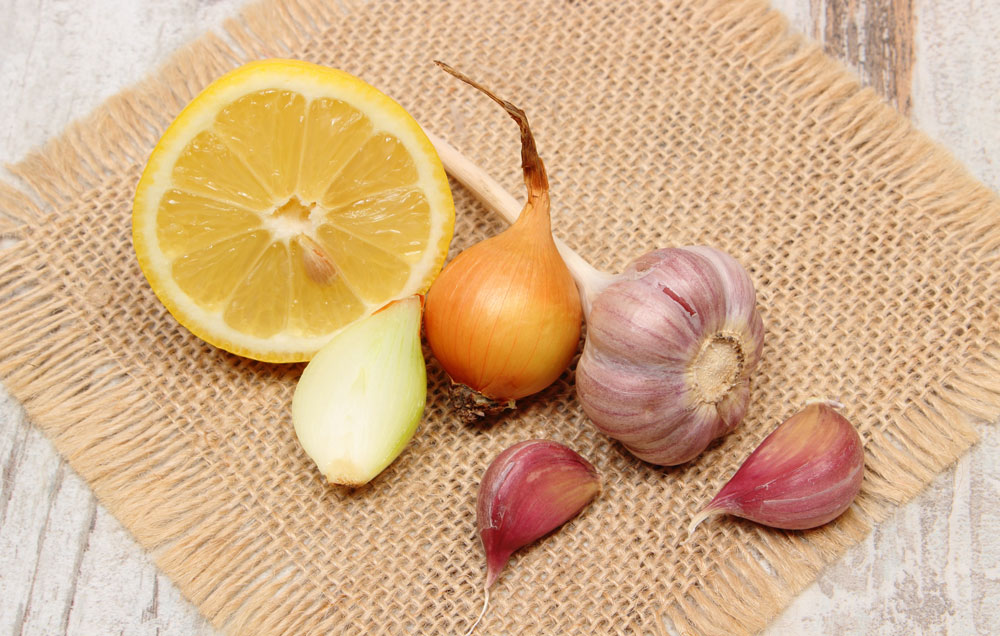healthy grilling ideas onion garlic lemon
