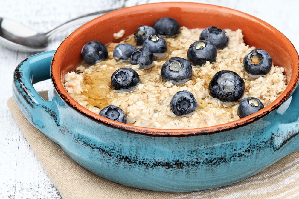 oatmeal eggless breakfast