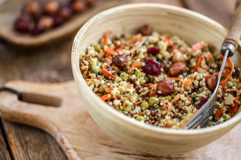 quinoa breakfast bowl eggless breakfast