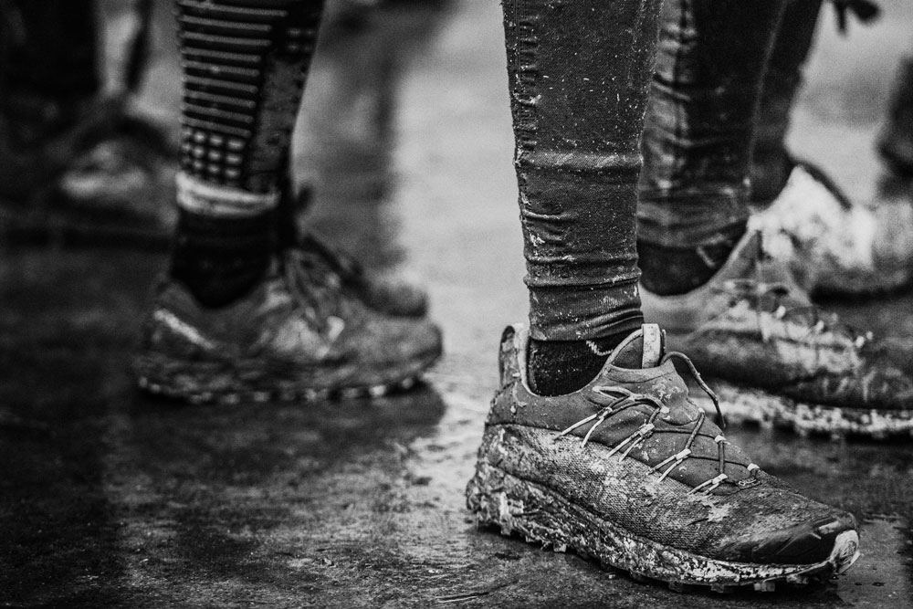 how to clean your race gear muddy running shoes