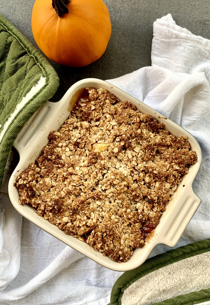 honey apple crisp clean thanksgiving recipes
