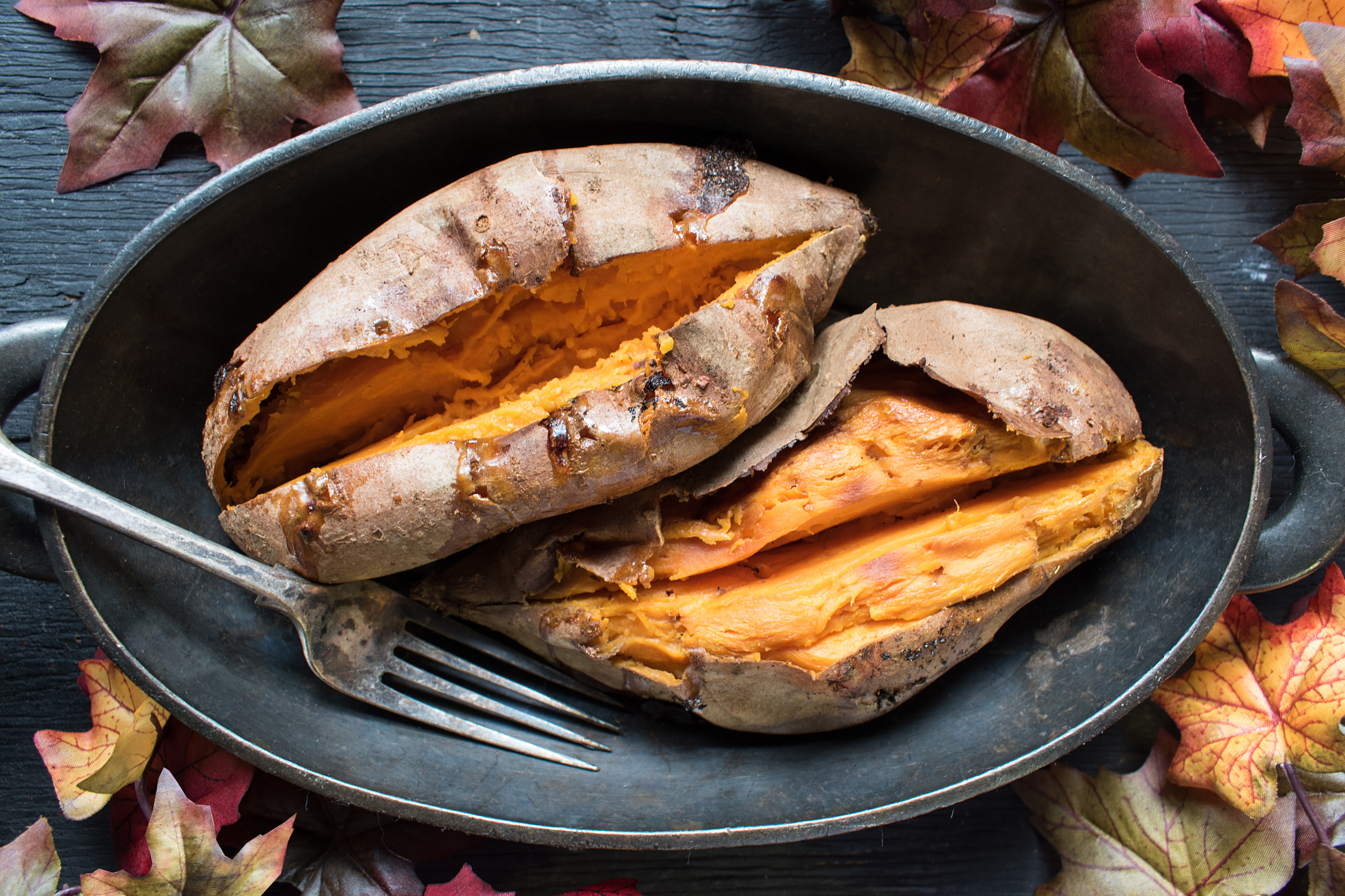 sweet potatoes foods to fight the flu
