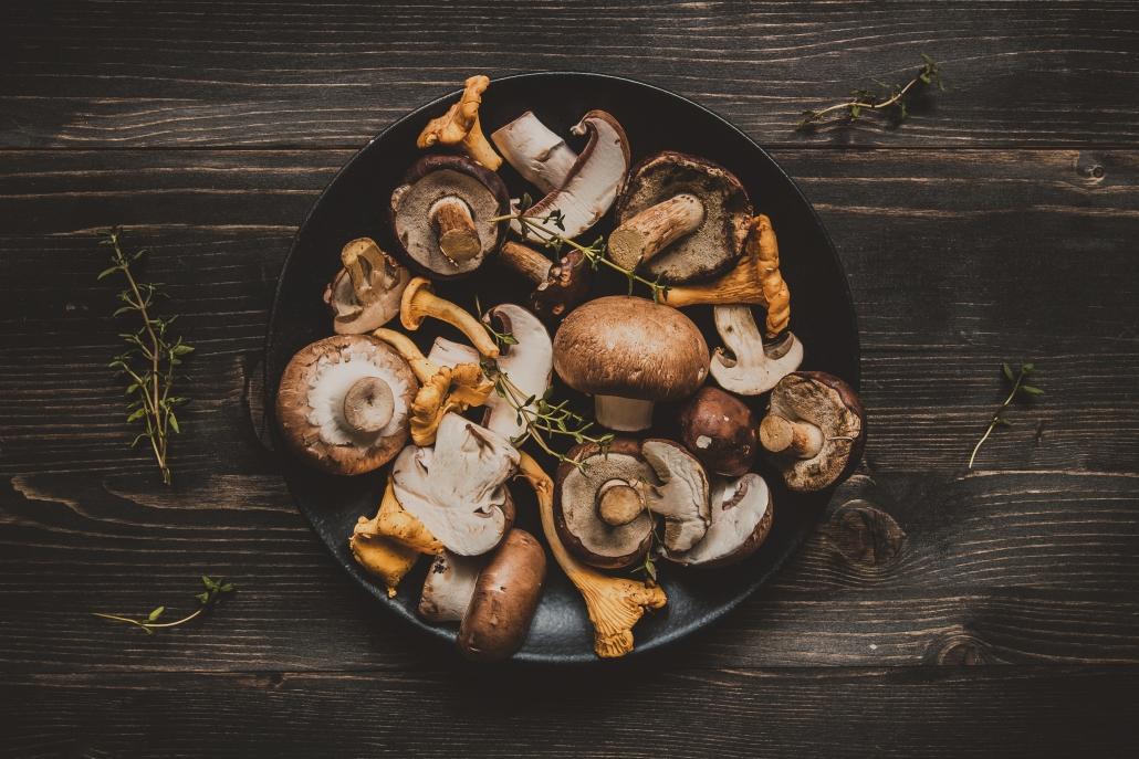 mushrooms foods to fight the flu