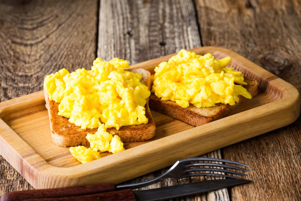 eggs foods to fight the flu