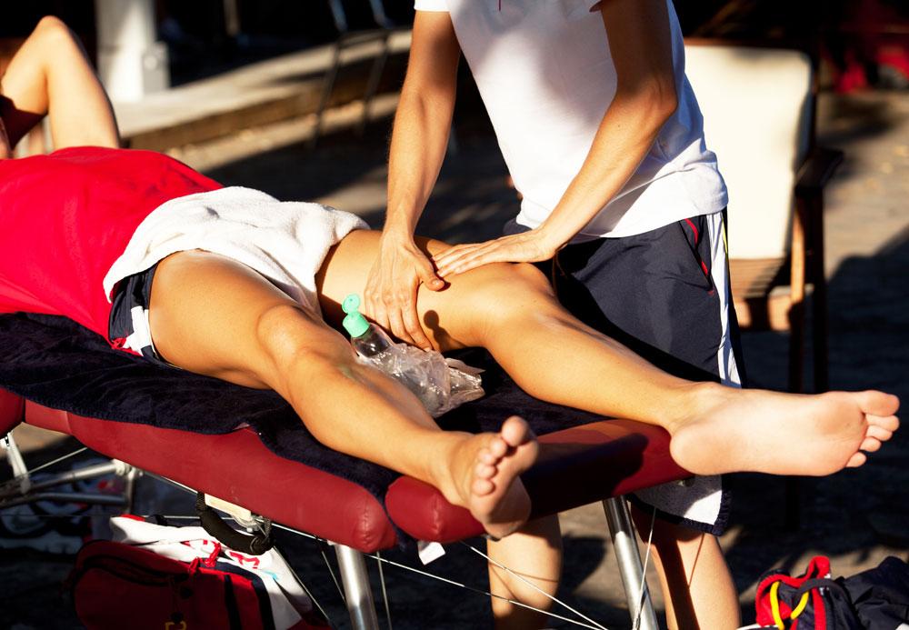 cross-fiber friction massage