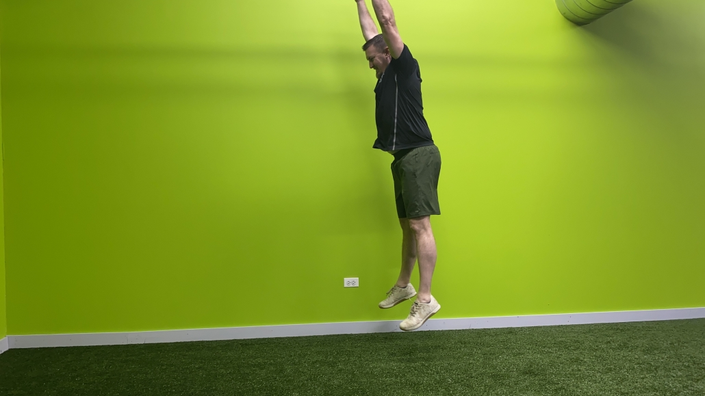 burpee Jump Full extension