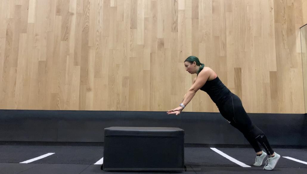 plyobox bodyweight exercises pushups