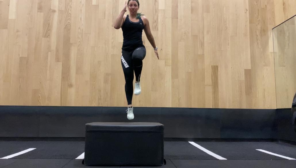 plyobox bodyweight exercises stepups