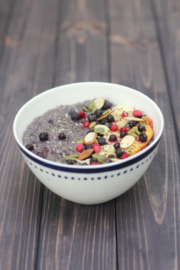 blueberry quinoa heart-healthy slow cooker recipes