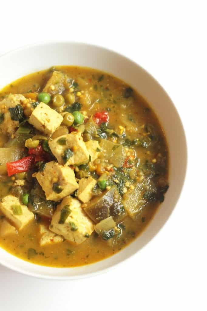 vegetable curry tofu heart-healthy slow cooker recipes
