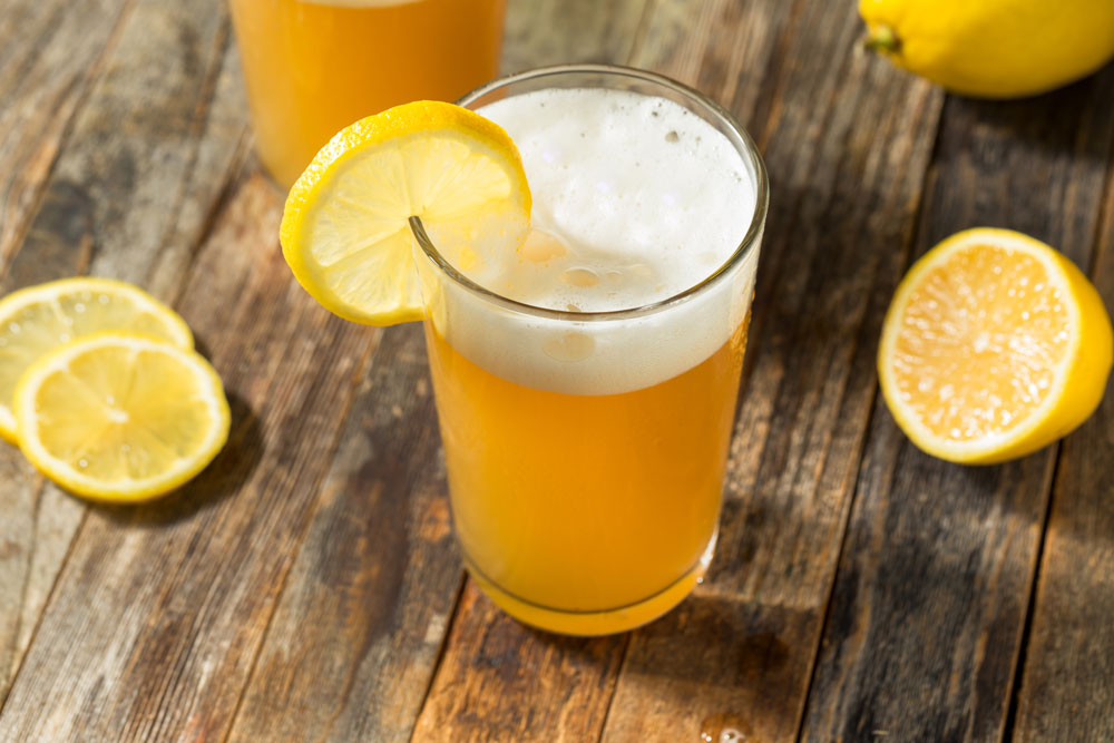 beer lemonade summer radler